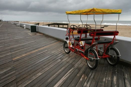 Small Surrey for Boardwalk Travel